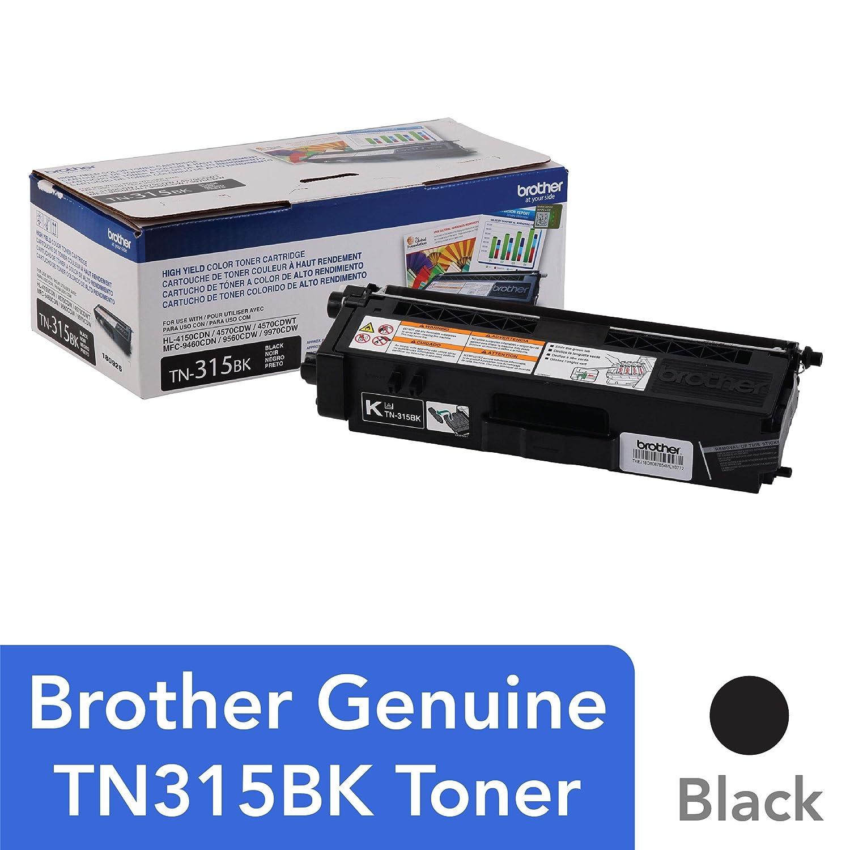 Brother TN-315BK - Tóner para impresoras láser (6000 páginas ...