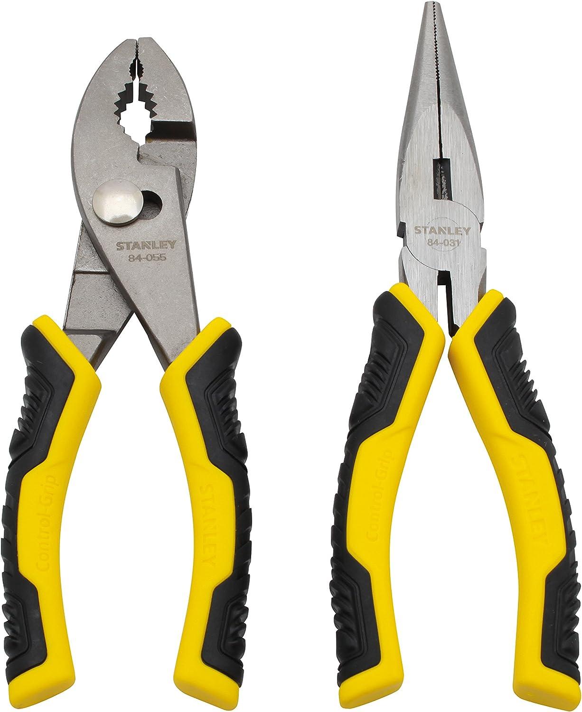Stanley STHT74823 STHT74923 6 Control Grip Plier Set,