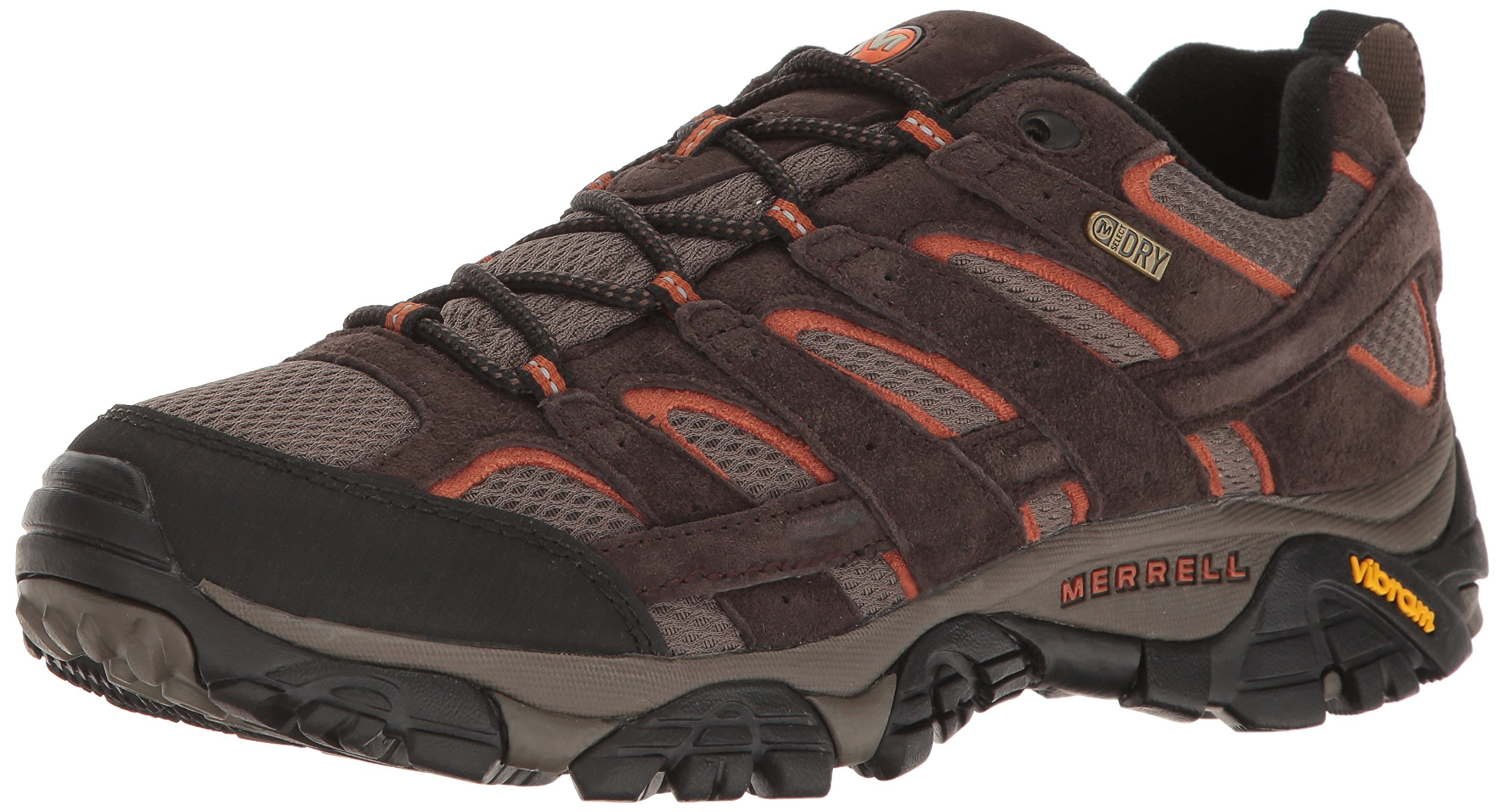 Merrell Men's Moab 2 Waterproof Hiking Shoe, Espresso, 8 M US