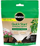 Miracle-Gro Quick Start Planting Tablets, 20 Tablets