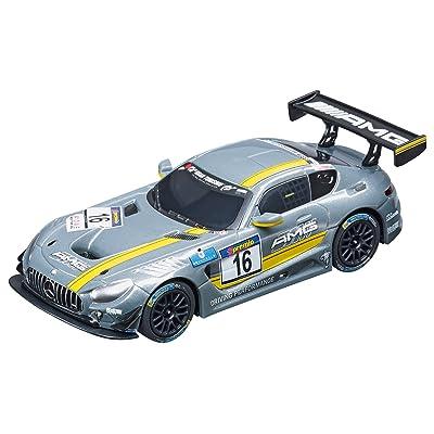 Carrera GO!!! 64061 Mercedes-AMG GT3, No.16 Slot Car Racing Vehicle: Toys & Games