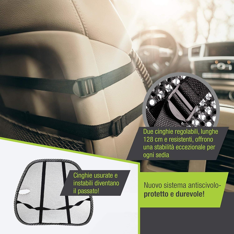 Dljztrade Cuscino Massaggiante Per Auto Con Supporto Lombare Parti E Accessori Per Sedili Auto E Moto Xn Pizza Mssingen 1pb De