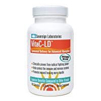 Enhanced Liposomal Vitamin C - 530mg Capsules Pharmaceutical Grade - 5X More Absorbable Than Regular Vitamin C - 120 Count