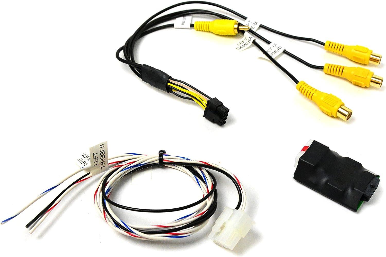 Brandmotion 9002-6117 2-Way Video Switcher Video RCA Input//Output
