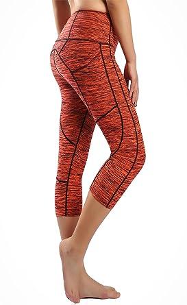 Sugar Pocket Legging de Sport Femme Stretch Yoga Jogging Fitness Running  Taille Haute avec Poche  Amazon.fr  Vêtements et accessoires c2b06b14a36