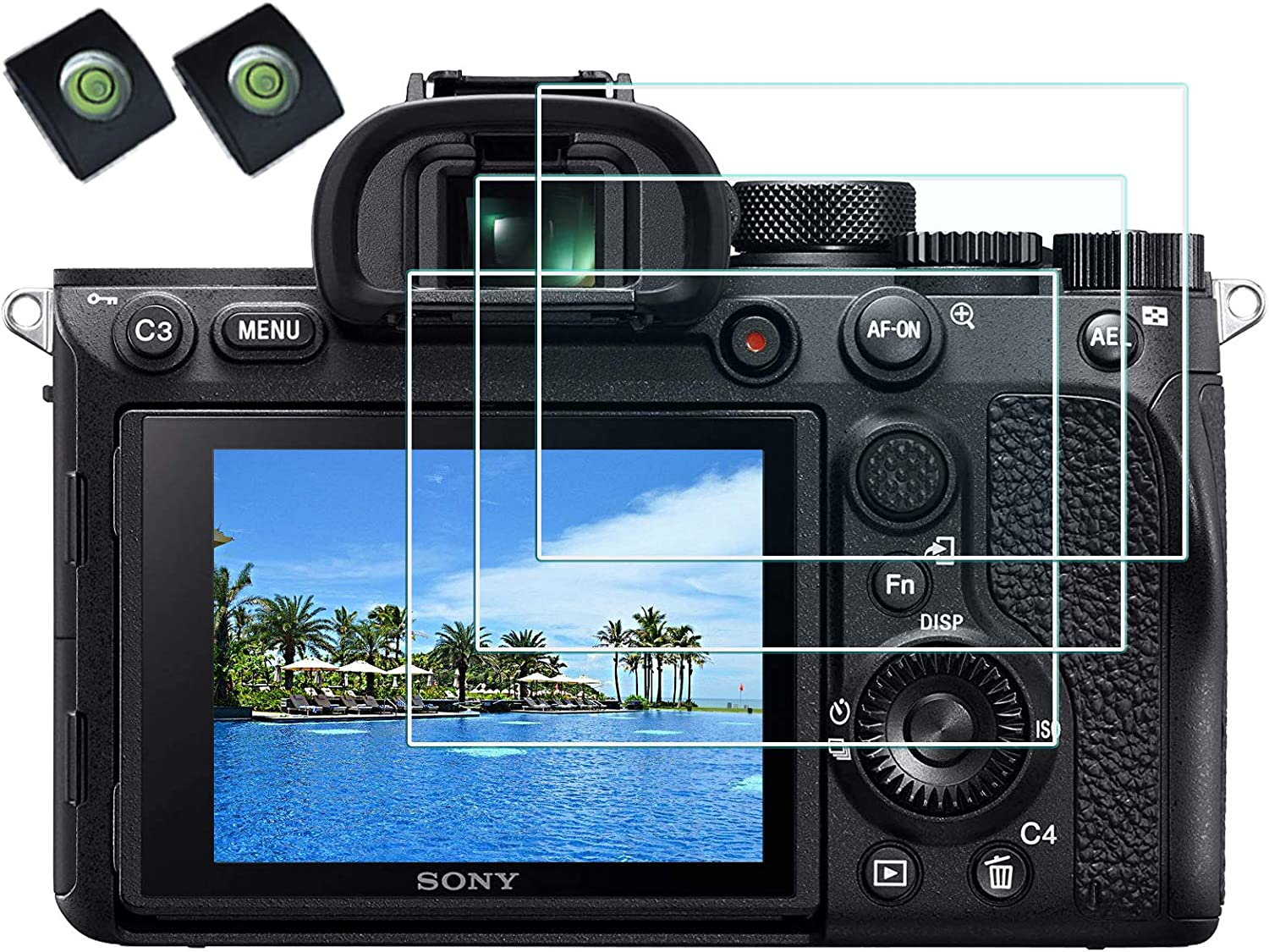 Tempered Glass Screen Protector for Sony Alpha A7R IV Camera with ...