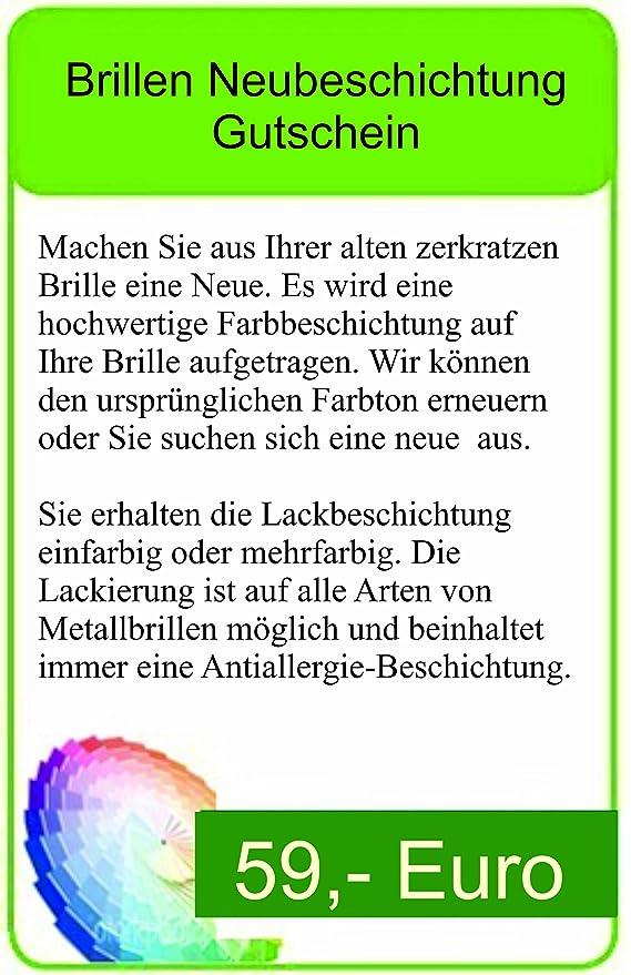 Brillen Lackiergutschein: Amazon.de: Küche & Haushalt
