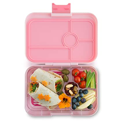 7eed04152ba2 YUMBOX TAPAS Larger Size (Amalfi Pink) 4 compartment Leakproof Bento ...