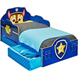 Paw Patrol Chase Kids Toddler Bed with Underbed Storage by HelloHome