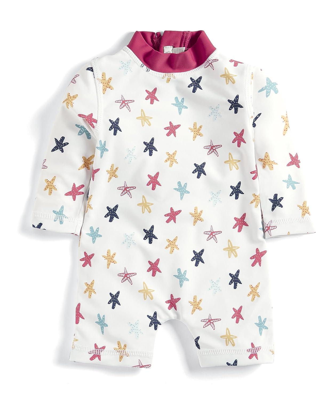 Mamas & Papas Baby Girls' Starfish Rash Suit Swimsuit Mamas and Papas