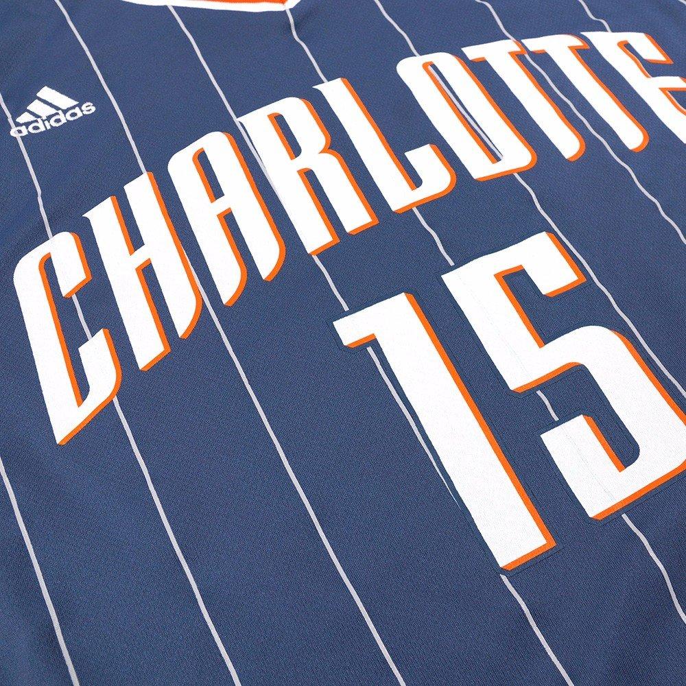 adidas Kemba Walker Charlotte Bobcats NBA Mens Grey Official Replica Jersey