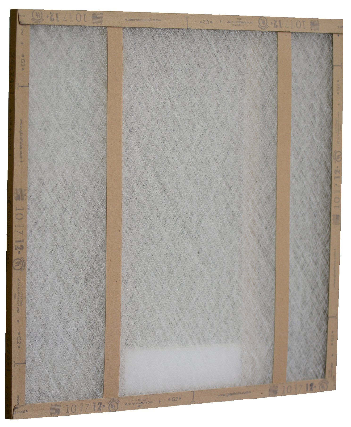 Glasfloss Industries GDS20201 GDS Series Double Strut Disposable Panel Air Filter, 12-Case