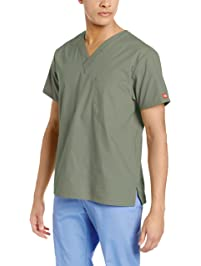 Dickies Men's V-Neck Scrub Top