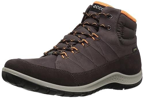 ECCO Women's Aspina GTX High Hiking Boot, Shale/Shale, 35 M EU/