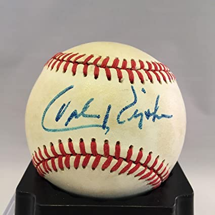 f7575713574 Image Unavailable. Image not available for. Color  Cal Ripken Jr. Signed  Baseball - Sr Official American League - JSA Certified ...