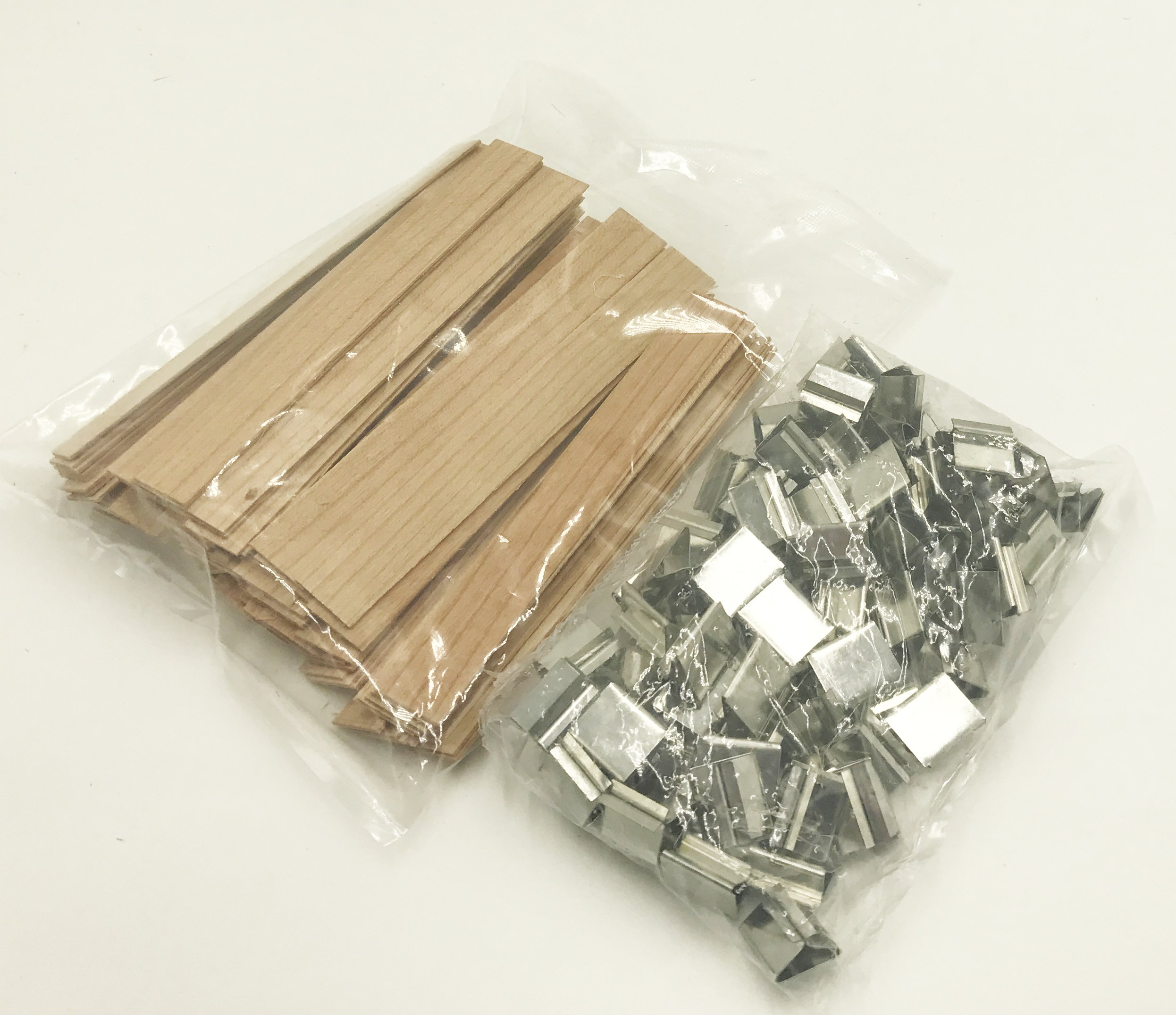 Candlewic 100 pk of Larger Cherry Wooden Wicks 5/8'' Width 5. 25'' length (. 04 thickness)