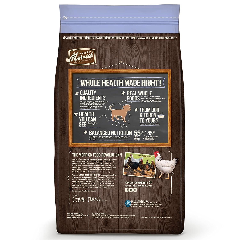 Merrick Grain Free Puppy Dry Dog Food Recipes