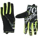 O'Neal Matrix Kinder Handschuhe Attack Neon Gelb Hi-Viz MX MTB DH Motocross Enduro Offroad, 0388R-0