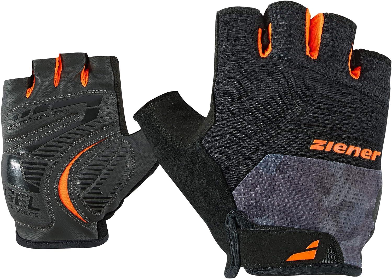 Ziener Herren CHEZTER bike glove Fahrrad-//Mountainbike-//Radsport-Handschuhe atmungsaktiv//d/ämpfend Kurzfinger