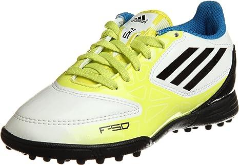 adidas Botas F5 TRX TF Amarillas -Junior-: Amazon.es: Deportes y aire libre