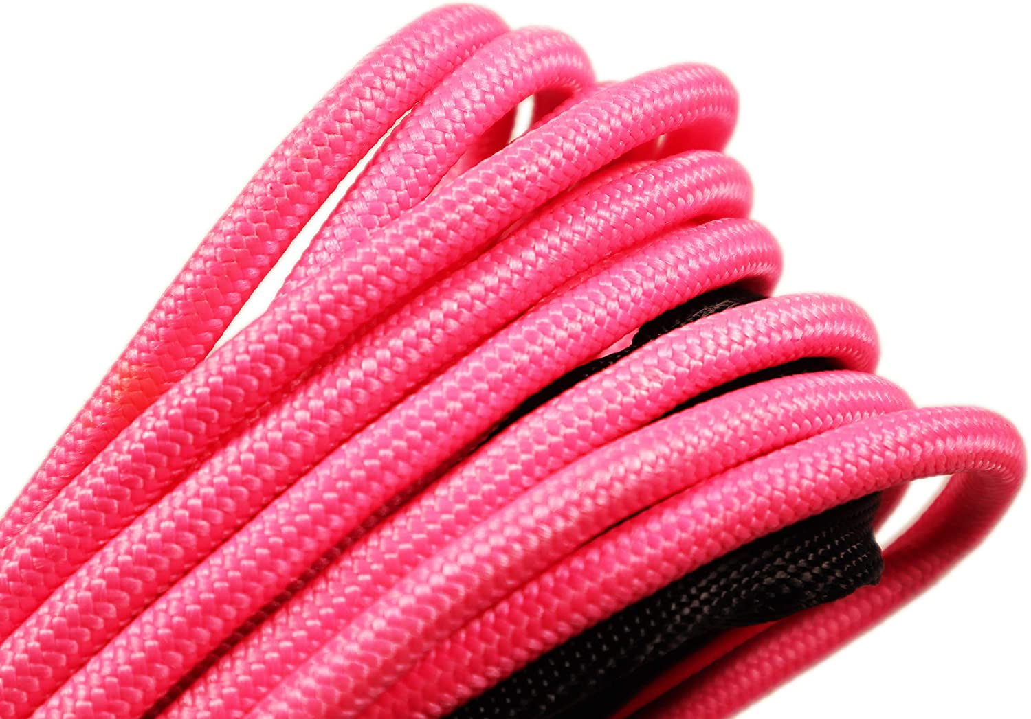 3 Year Warranty Arachni Recovery Equipment Synthetic Winch Rope Line Cable 5//16 x 50 20,000 LB Capacity W//Sheath Pink