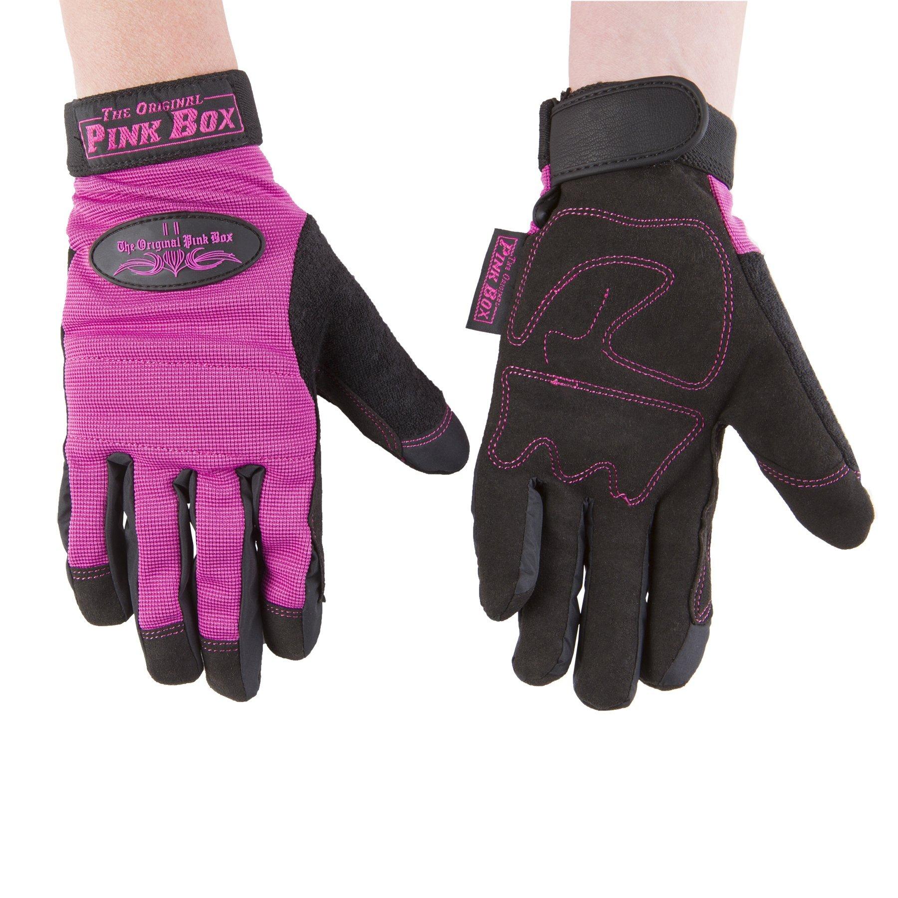 The Original Pink Box PBGL Multi-Purpose Gloves, Large, Pink