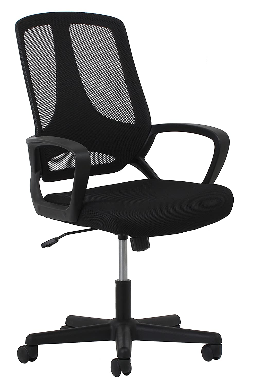 Essentials Swivel Mesh Task Chair with Arms – Ergonomic Computer Office Chair