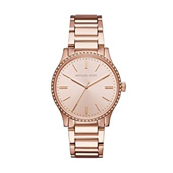7a235782e516 Amazon.com  Michael Kors Women s Bailey Analog-Quartz Watch with  Stainless-Steel Strap
