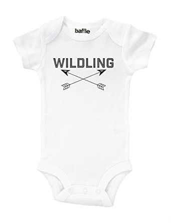 Amazon Com Baffle Wildling Game Of Thrones Baby Outfit Clothing