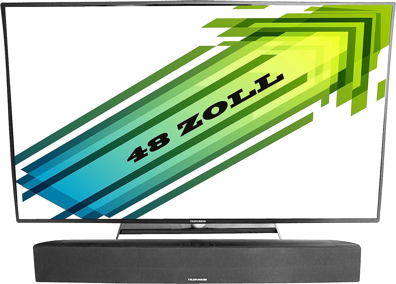 Telefunken SB100 2.1 – Barra de Sonido para televisión (40 W, RMS, Toma Auxiliar, Line-in, con Accesorios de Montaje para la Pared): Amazon.es: Electrónica