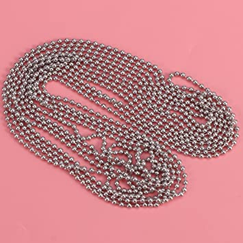 ounona 3/Meters Length Ball Chain 2.4/mm Diameter With 10/Connections to Game