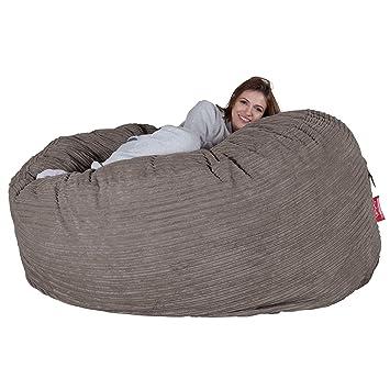 Lounge Pug Cord Cloudsac Huge Memory Foam Giant Bean Bag Sofa b5ef22af5adc2