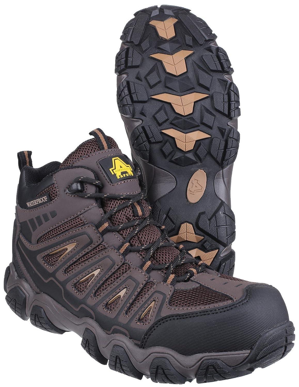 Amblers Safety Uomo AS801 Scarponi Antinfortunistici Trekking Impermeabili Pelle