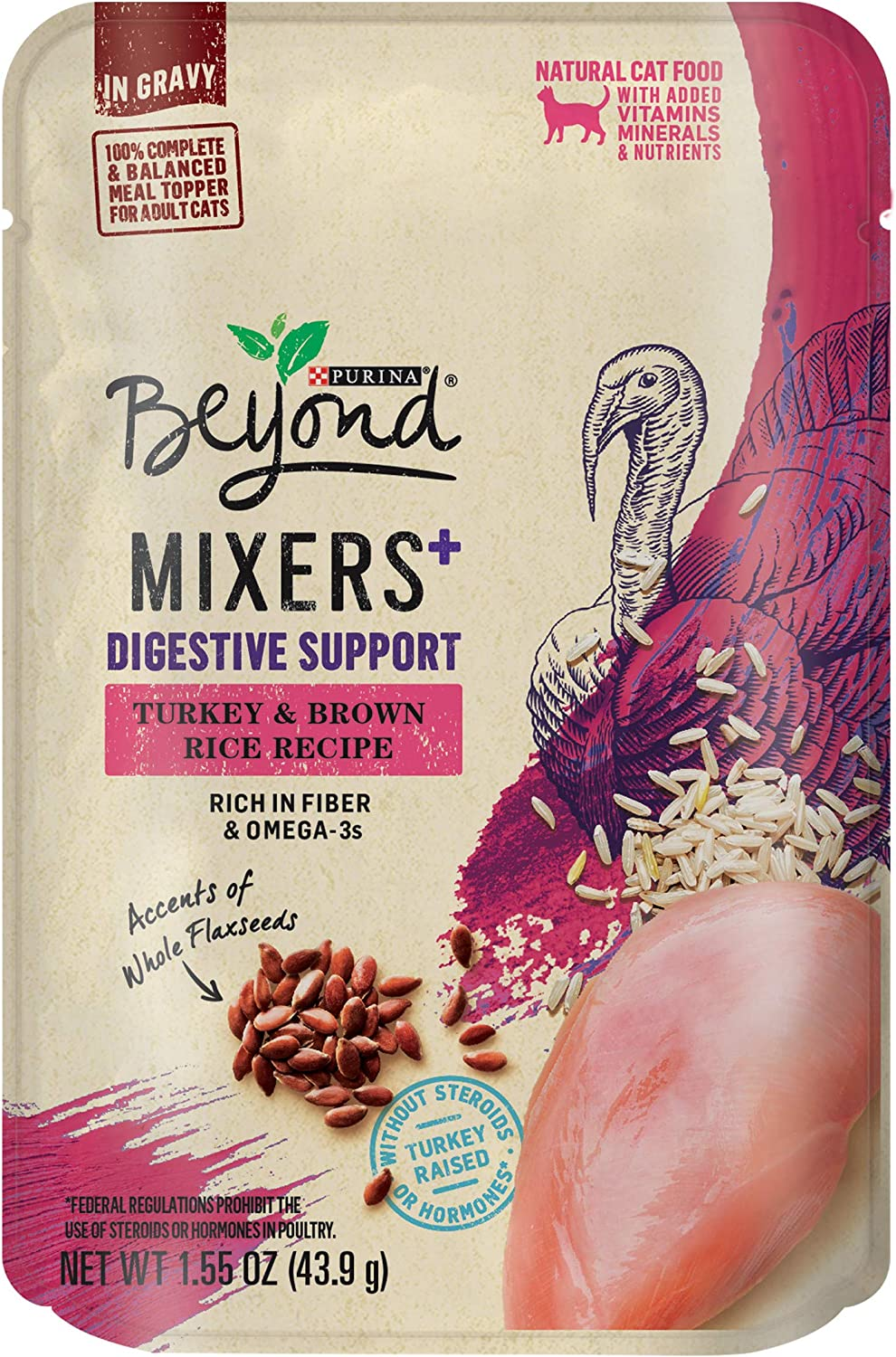 Purina Beyond Grain Free, Natural, Adult Wet Cat Food in Gravy & Wet Cat Food Toppers (Packaging May Vary)