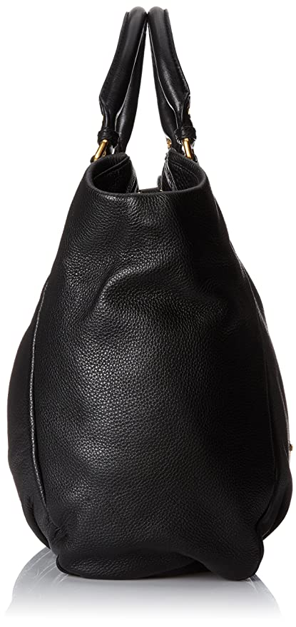 4f66611d6552 Amazon.com  Marc by Marc Jacobs Classic Q Francesca Satchel Black One Size   Marc By Marc  Clothing