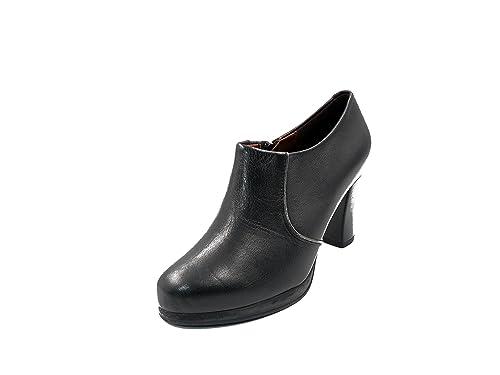 aa2cd51e9c4 Zapato Abotinado Mujer PITILLOS en Piel Color - 1084-308N (39