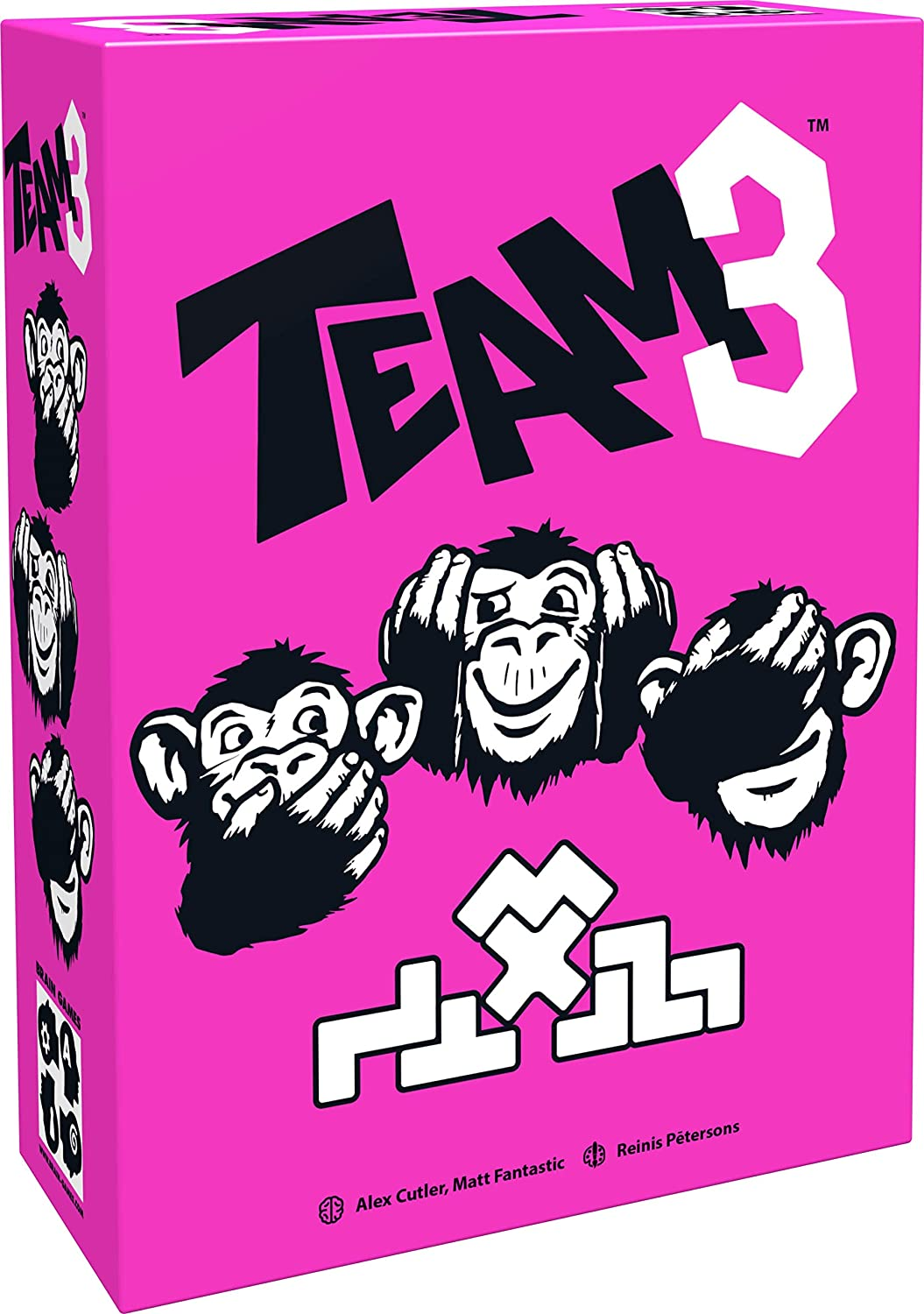 BRAIN GAMES TEAM3 Pink Board Game - A Thrilling Party Game