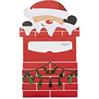 Amazon.com Gift Card in a Santa Chimney Reveal