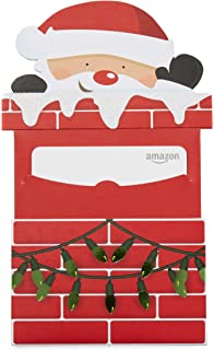 amazoncom gift card in a santa chimney reveal