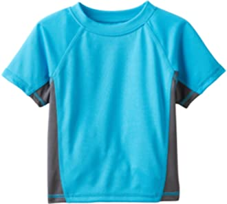 Lands End Little Boys Short Sleeve Rash Guard