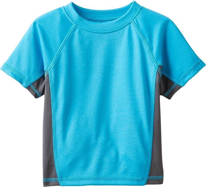Kanu Surf Boys' Short Sleeve UPF 50+ Rashguard Swim Shirt   Amazon