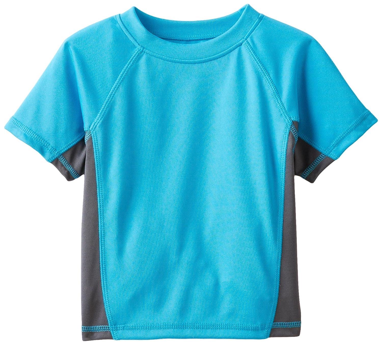 Kanu Surf Boys' Short Sleeve UPF 50  Rashguard Swim Shirt