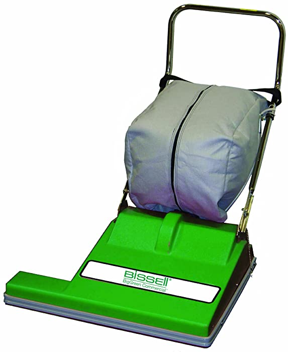 "BISSELL BigGreen Commercial BG-CC28 Extra Wide Vacuum Cleaner, 28"" Cleaning Path, 36.5"" Height, 29"" Length, 36"" Width"