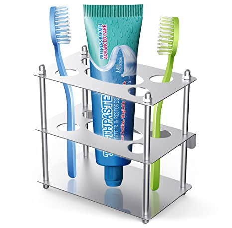 Coobal Soporte para cepillos de dientes, cepillo de dientes ...