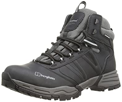 Berghaus Men's Expeditor AQ Ridge Walking Boots - Black (Black/Silver), 6.5 UK