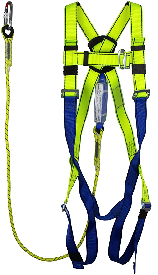 GFP-35-E G-Force 2 Point Elasticated Full Body Height Safety Fall Arrest Harness M-XL