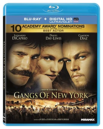Gangs Of New York 2002 Us Import Blu Ray Region A Amazon Co Uk Dvd