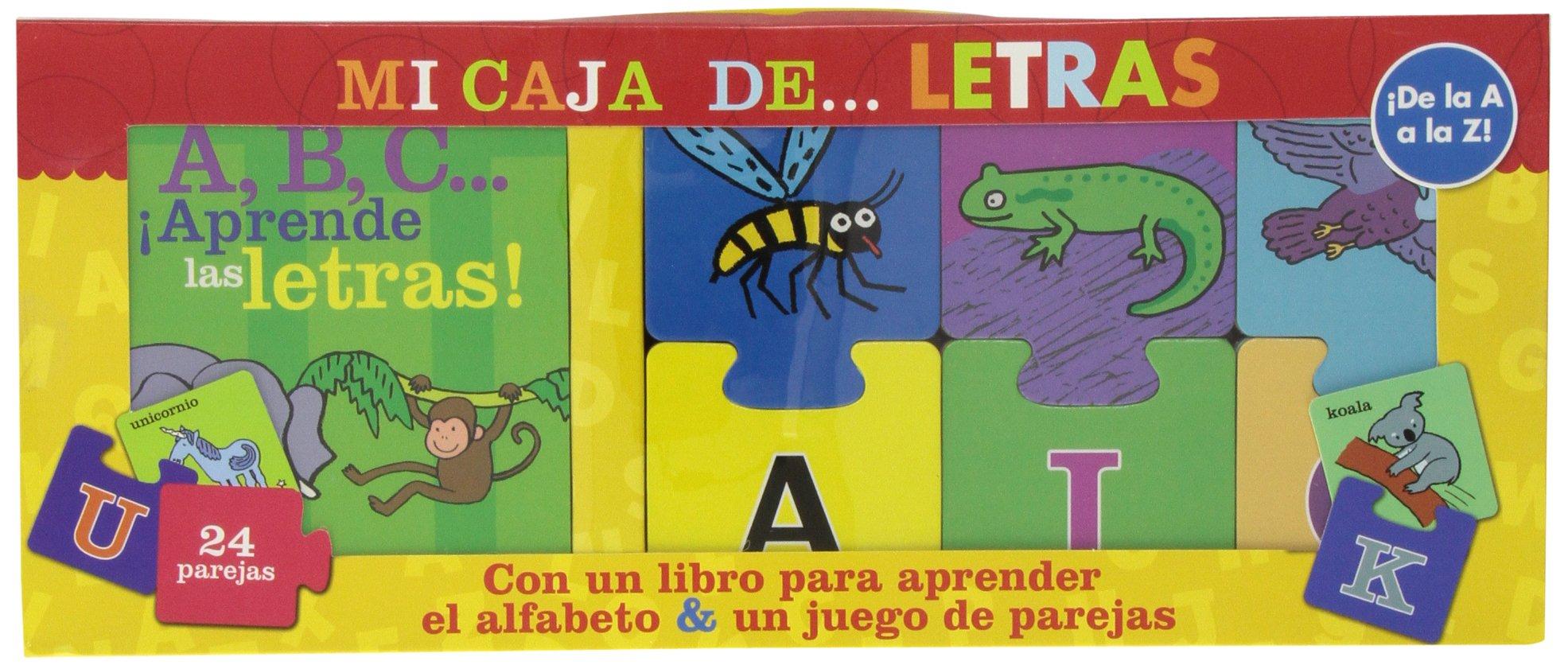 Mi caja de... LETRAS: 150703 (Juega y aprende): Amazon.es: /: Libros