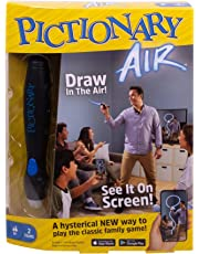 Mattel Games GJG17 Pictionary Air Family Drawing Game, Links to Smart Devices, for 8 Year Olds and up, Multicolour