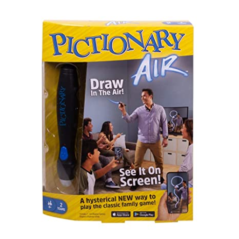 drawing game pc Mattel Games Pictionary Air Family Drawing Game Links To Smart Devices 8 Years Old And Up